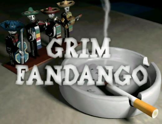 Grim Fandango title