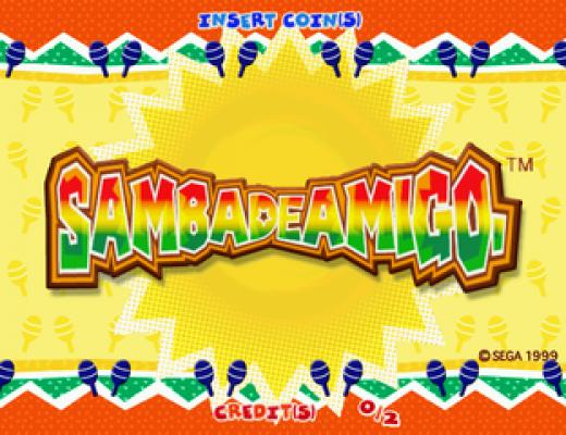 Samba de Amigo title