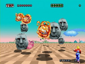 Space-Harrier-Boss-Battle-2