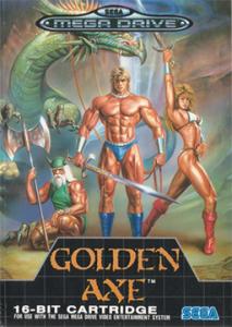 Golden Axe capa