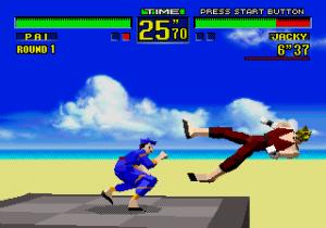 Virtua Fighter gravidade