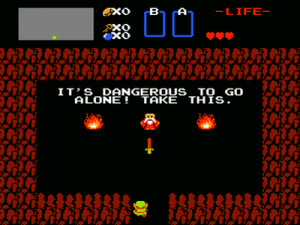 Zelda - é perigoso
