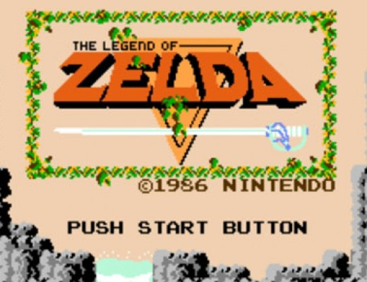 Zelda - title screen