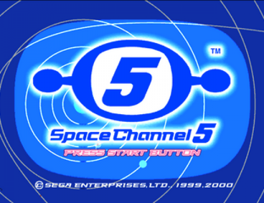 space channel 5 title screen