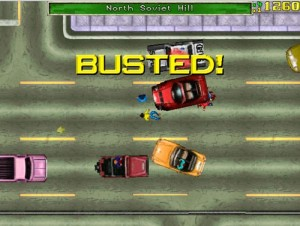 GTA - busted