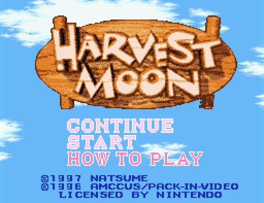 Harvest Moon title