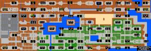 Zelda - mapa